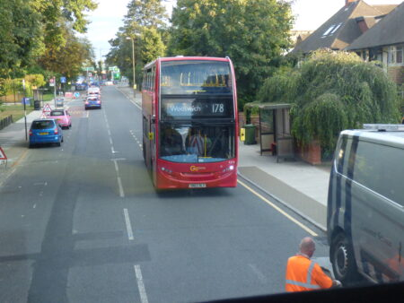 Londres, bus double-decker