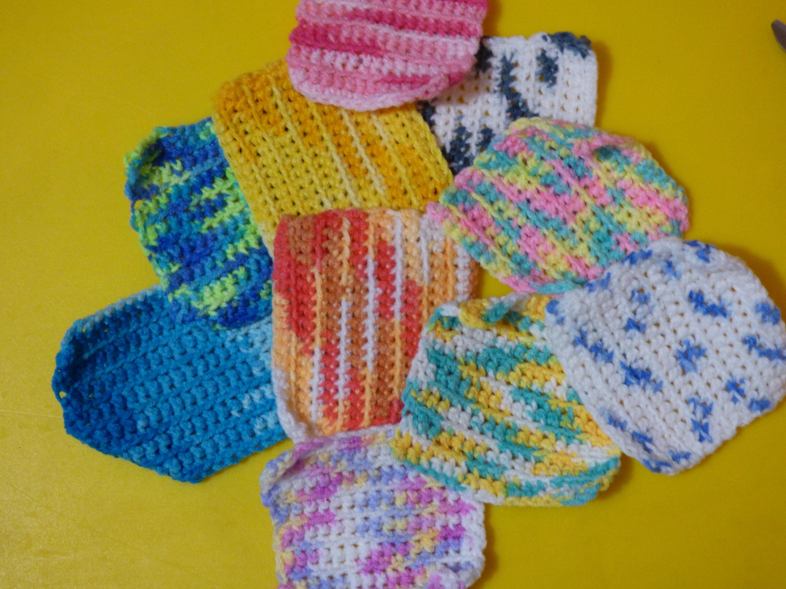 Lingettes en crochet
