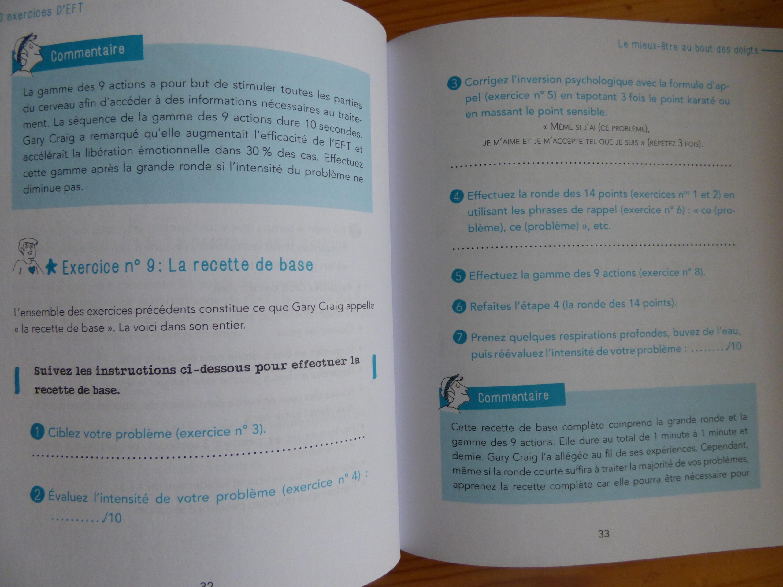 Extrait du livre 50 exercices d'EFT