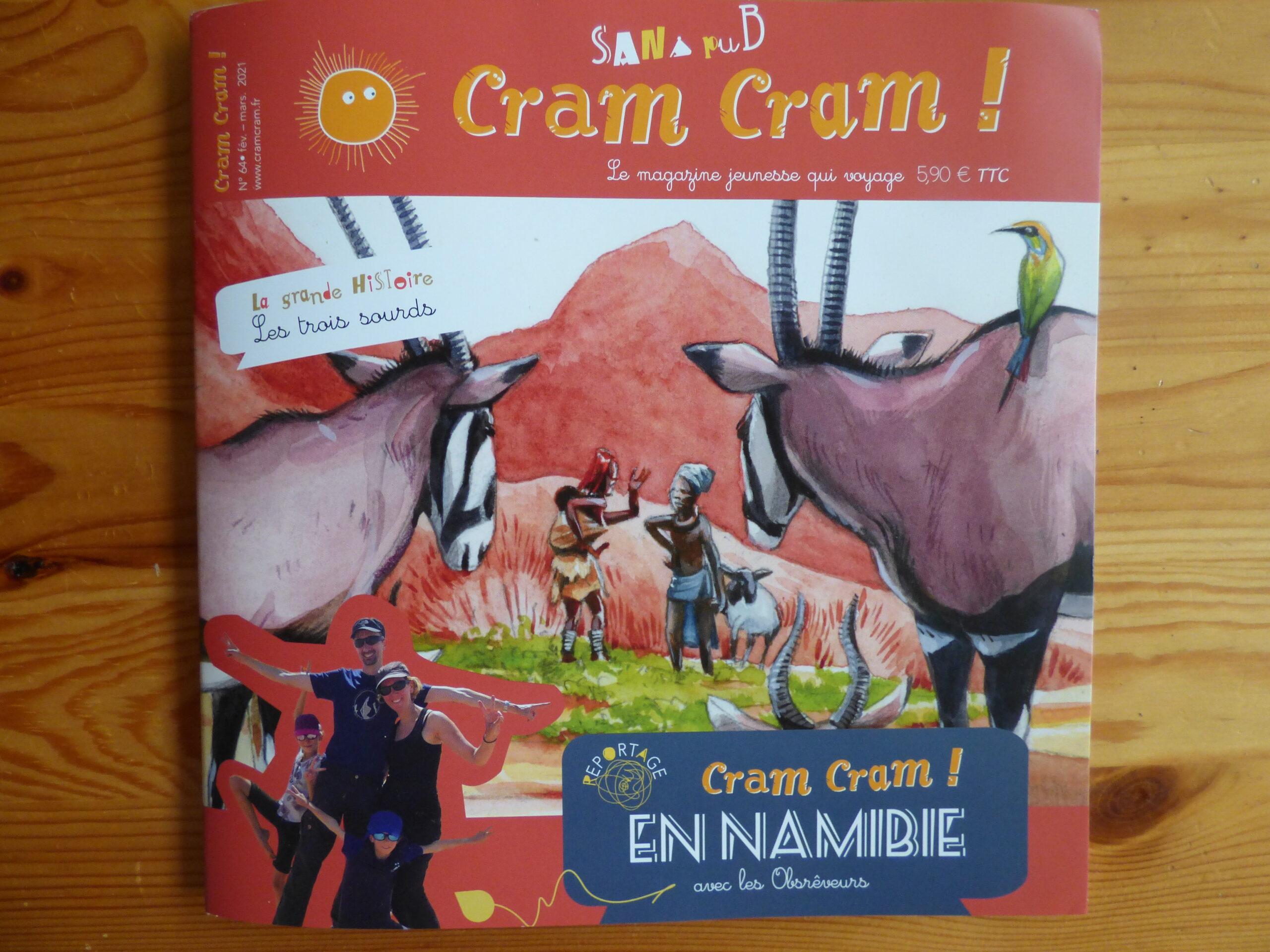 Cram Cram en Namibie