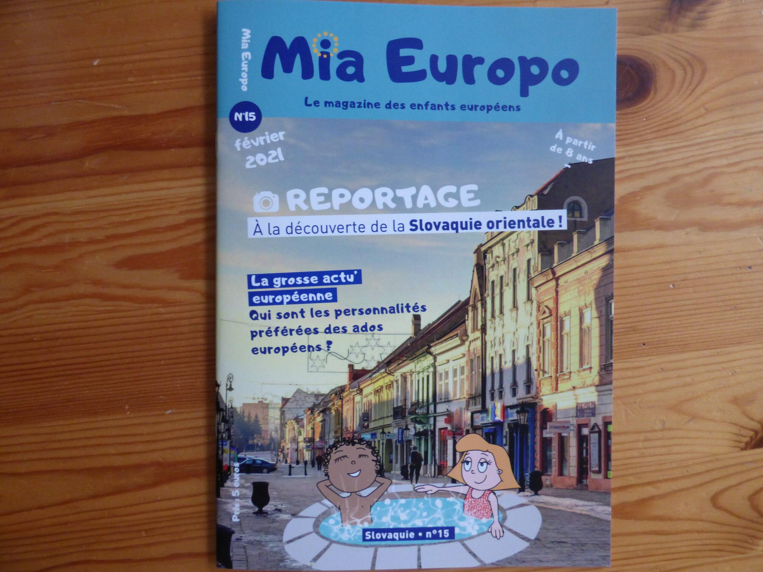 Mia Europo en Slovaquie