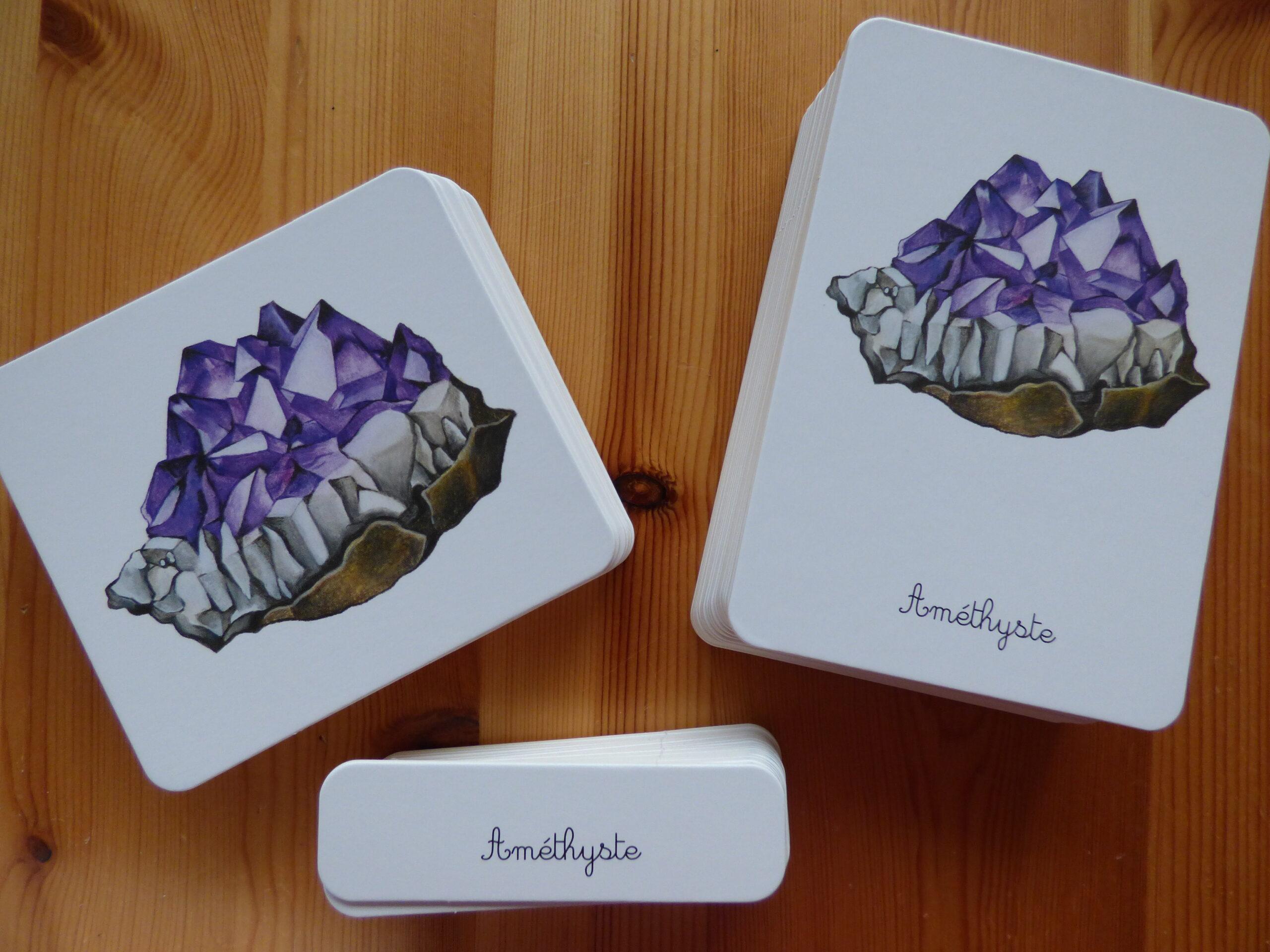 Mon coffret Montessori des minéraux, cartes