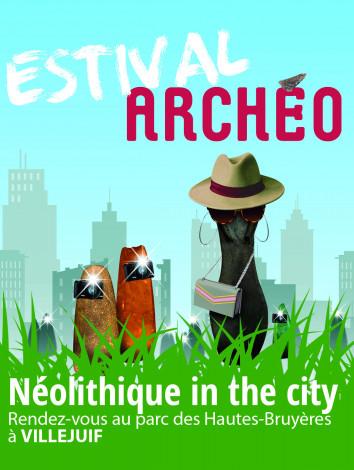 Affiche Estival Archéo 2021