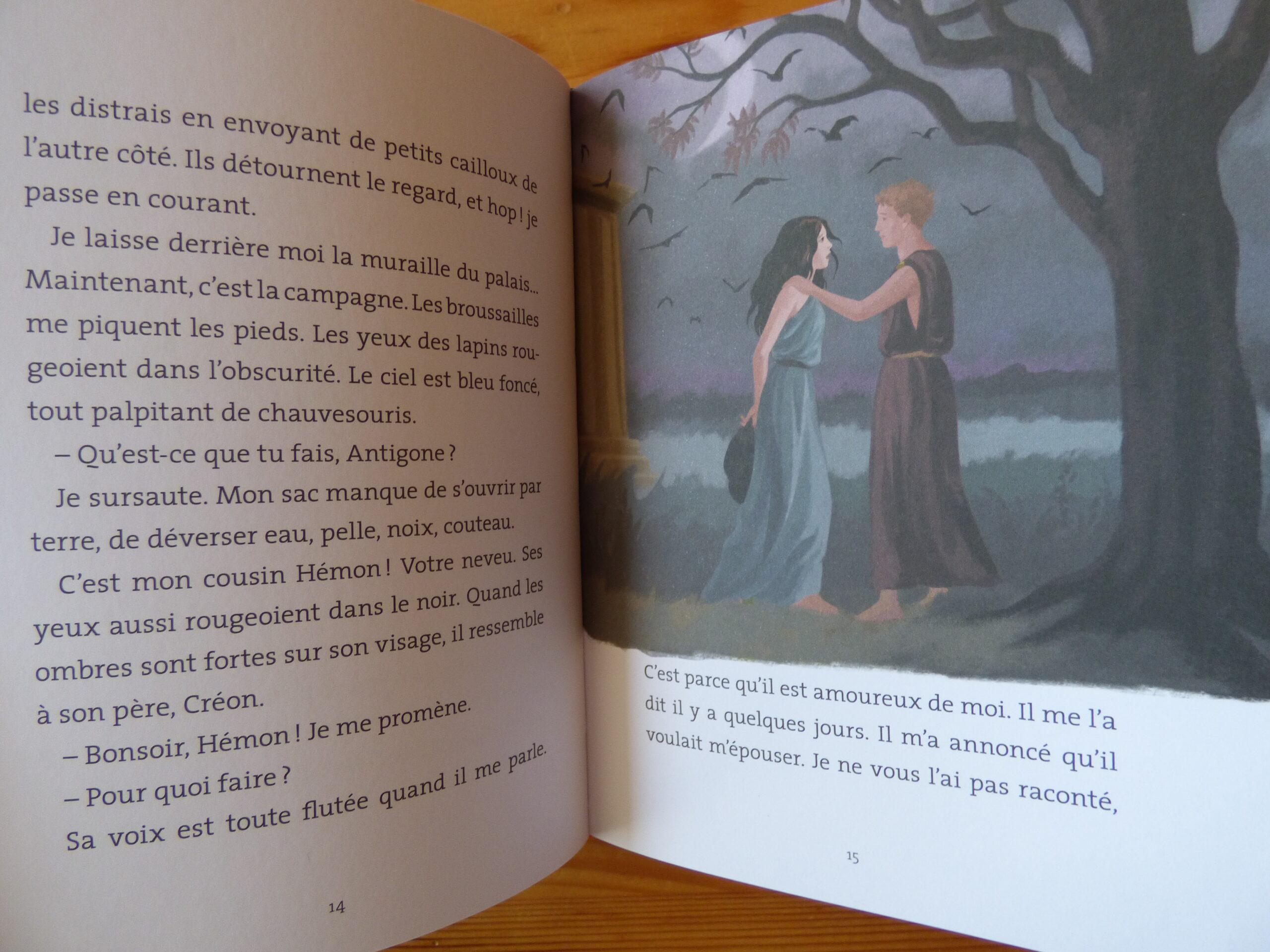 Antigone la révoltée, extrait