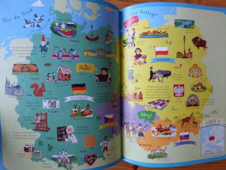 Atlas de l'Europe livret