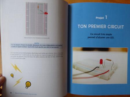 Circuits électroniques pour les kids, extrait