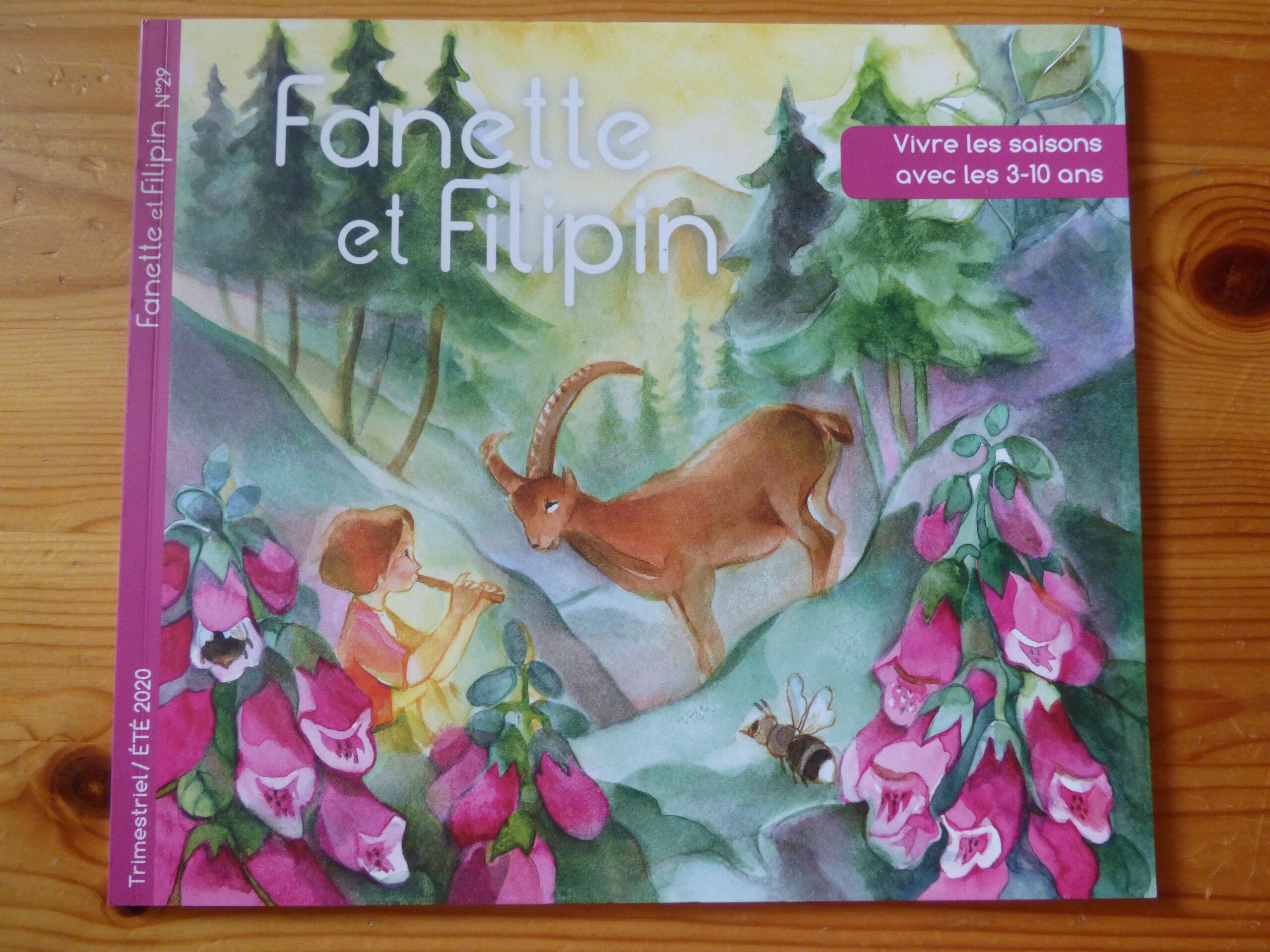 Fanette et Filipin été 2020, couverture