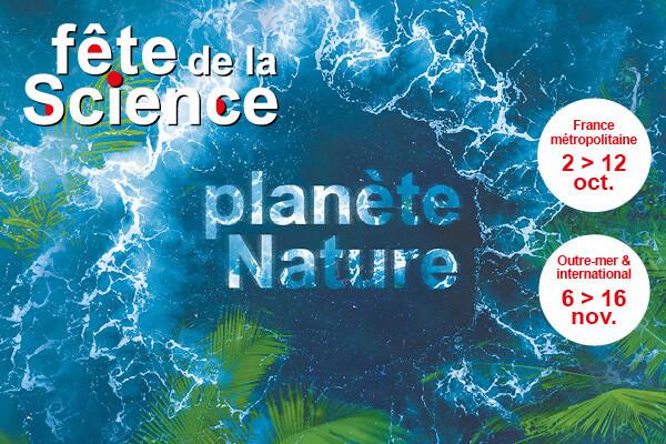 Affiche de la fête de la science 2020