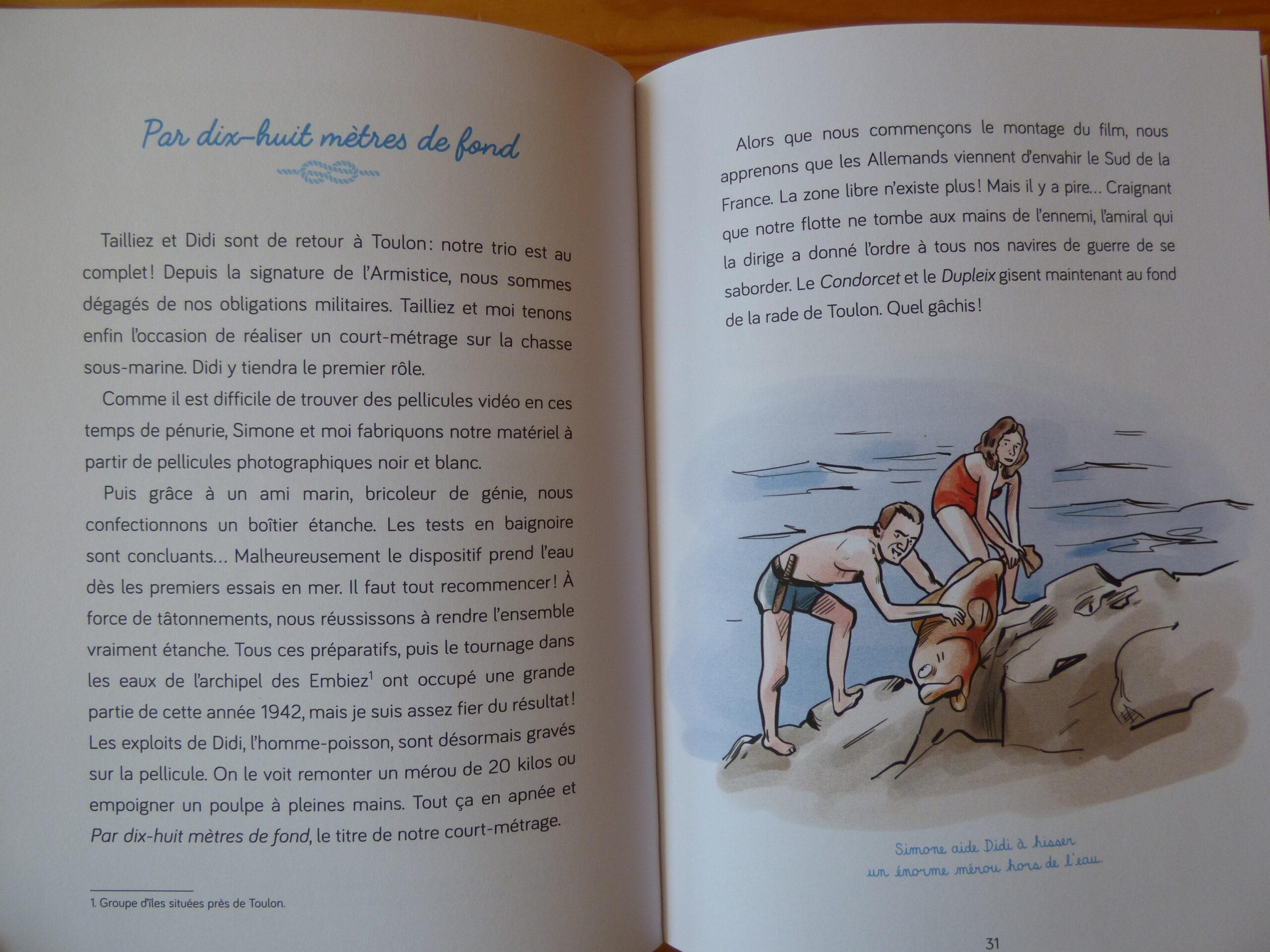 Le journal du Commandant Cousteau, extrait