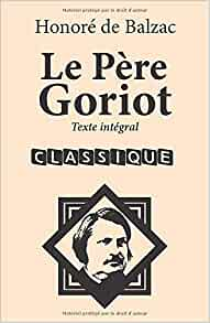 Le père Goriot, couverture
