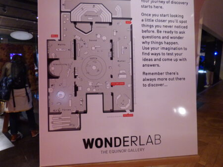 Londres Wonder Lab Plan