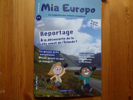 Mia Europo en Irlande couverture