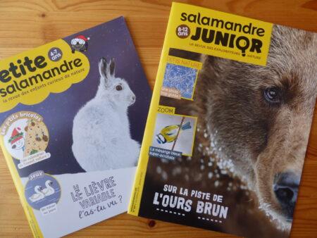 Magazines jeunesse de La Salamandre décembre-janvier 2020