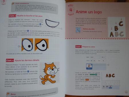 30 défis pour coder avec Scratch 3 pour les kids extrait
