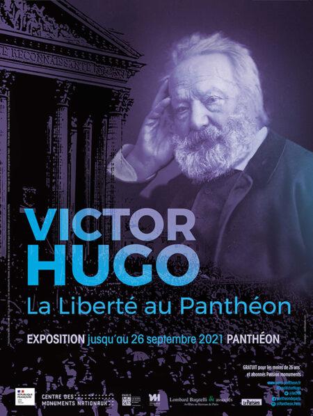 Affiche Victor Hugo La liberté au Panthéon