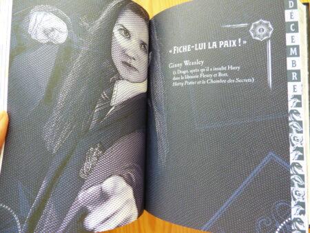 Agendas Harry Potter, page de décembre