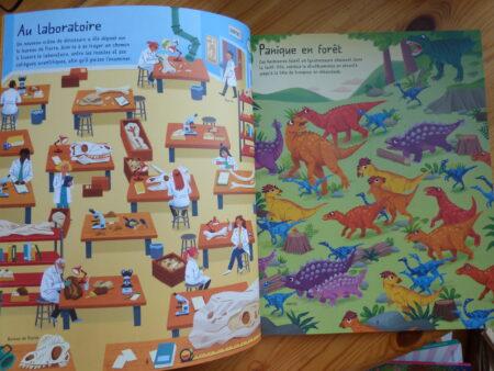 Le grand livre des labyrinthes des dinosaures extrait