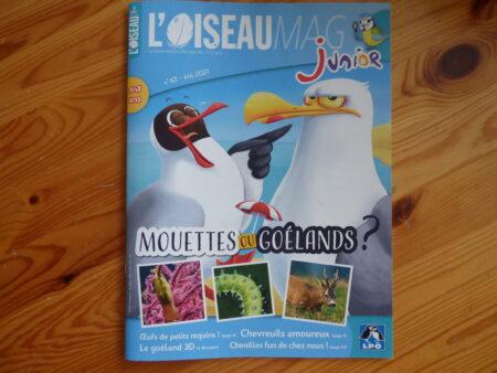 Oiseau Mag Junior Eté 2021 couverture