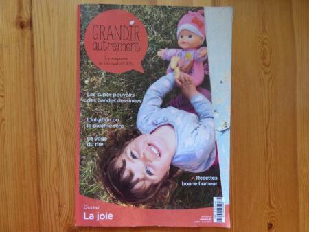 Grandir Autrement n° 88, couverture