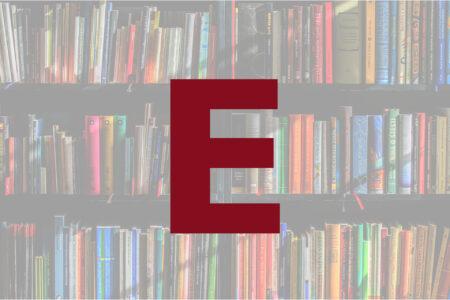 Abécédaire des auteurs en E