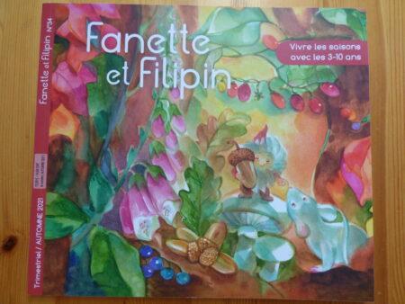 Fanette et Filipin automne 2021, couverture