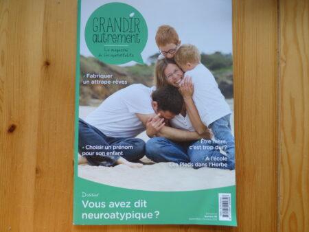 Grandir Autrement n° 89, couverture