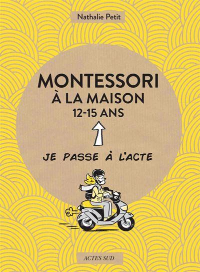 Montessori à la maison 12-15 ans couverture
